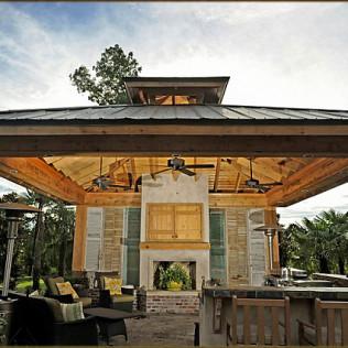 Outdoor Kitchens, Deck & Patio Builder: Lafayette, LA: Backyard Builders